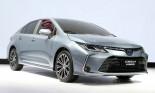 Toyota Corolla Altis thế hệ 2019: thiết kế hoàn toàn mới