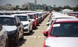 Lượng ô tô nhập khẩu tăng tăng mạnh, xuất xứ chủ yếu từ Thái Lan