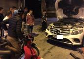 Mercedes-Benz GLC đời mới bốc cháy tại Việt Nam