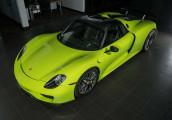 Porsche 918 Spyder Acid Green hàng siêu hiếm được rao bán