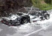 """Một trong 7 chiếc Ferrari F40 cực hiếm bị """"bà hỏa"""" thiêu rụi"""