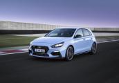 Hyundai trình làng mẫu hatchback hiệu suất cao đầu tiên