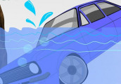 Kỹ năng thoát hiểm khi xe ô tô bị lao xuống nước