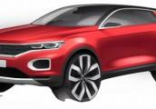 Volkswagen hé lộ kiểu dáng mẫu Crossover mới