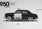 Xe cảnh sát Mỹ biến đổi qua các thời kỳ