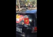 Hyundai Getz độ gạt nước cổ vũ U23 Việt Nam
