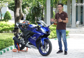 Giới thiệu nhanh Yamaha R15 2018 - Max Speed 146 km/h trên đường Việt Nam
