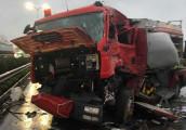 Tai nạn xe khách đâm xe cứu hoả chiều 18/3, 192 km/h cao tốc PV-CG