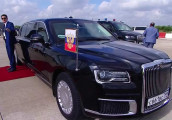 Siêu xe tổng thống Nga thu hút mọi ánh nhìn tại Hội nghị G20
