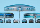 Khám phá mô hình xe buýt chạy bất chấp kẹt xe trong tương lai