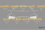Cách dịch biển số xe xấu hay đẹp