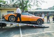 """Minh """"nhựa"""" cầm lái siêu xe độc nhất Việt Nam Pagani Huayra, nhưng vẫn không thể ra phố"""