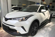 "Toyota C-HR đầu tiên ""đặt lốp"" tại Sài thành với giá bán gần 1,8 tỷ đồng"