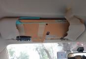 Tấm chắn nắng Vios bằng carton: Toyota VN nói 'đúng tiêu chuẩn'