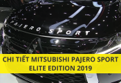 Tìm hiểu chi tiết phiên bản đặc biệt Mitsubishi Pajero Sport 2019