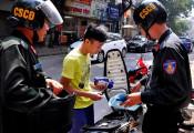 Cảnh sát cơ động được phạt lỗi nào từ năm 2020?
