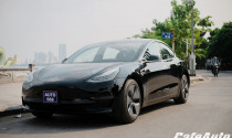Khám phá xe sang chạy điện Tesla Model 3 thứ hai của Việt Nam