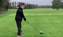 Ngày quốc tế thiếu nhi xem thần đồng 6 tuổi người Anh chơi golf