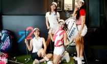 Cựu người mẫu Thúy Hằng khoe nhan sắc đỉnh cao bên hội chị em golf Việt