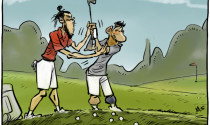 Bale dạy Messi chơi golf