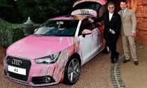 Bộ sưu tập Audi màu hồng