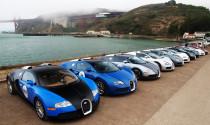 Siêu xe Bugatti Veyron tụ hội ở San Francisco