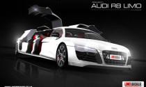 Thổn thức trước Audi R8 limo