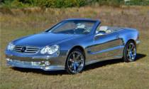Mercedes hàng độc mạ crôm sáng bóng
