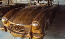 Mercedes 300SL 1955 làm từ gỗ tếch