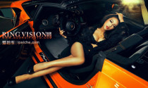 """Ngắm mỹ nhân Cao Yang bên """"siêu bò"""" Lamborghini aventador lp700-4"""