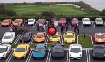Siêu xe Lamborghini hội tụ