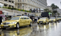 Mercedes đem dàn xe mạ vàng tới liên hoan phim Cannes 2012