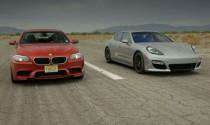 Cuội chiến của Porsche Panamera GTS và BMW M5