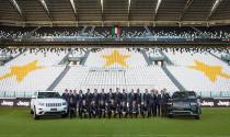 Đội Juventus được nhận cả dàn xe Jeep