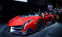 Lamborghini Veneno Roadster tái xuất với hệ thống âm thanh khủng