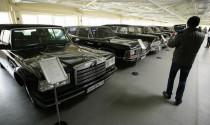 Choáng ngợp trước bộ sưu tập xe khổng lồ của tổng thống Ukraine