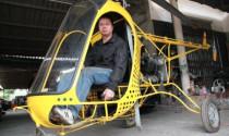 """Người chế tạo trực thăng """"made in Vietnam"""" bị lập biên bản"""