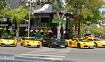 """Dàn siêu xe """"khủng"""" tại Sài Gòn lại khoe dáng"""