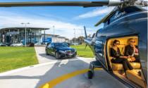 Mercedes-Benz cung cấp dịch vụ đưa đón bằng trực thăng