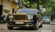 Đẳng cấp Rolls-Royce Phantom mạ vàng tại Việt Nam