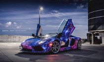 Chiêm ngưỡng Lamborghini Aventador Roadster theo phong cách galaxy