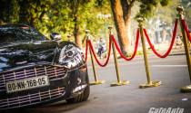 Vẻ đẹp quý tộc của Aston Martin Rapide trên đường phố Hà Nội