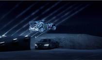 Drift xe cực ấn tượng với màn trình diễn ánh sáng laser