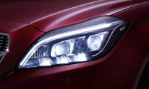 Mercedes-Benz tiết lộ công nghệ đèn pha mới trên CLS-Class