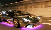 Dàn Lamborghini gắn LED náo loạn đường phố Tokyo