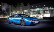 """""""Xế"""" xanh BMW I8 đẹp đến ngỡ ngàng"""