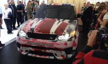 Siêu SUV Range Rover Sport SVR sẽ ra mắt tại Pebble Beach