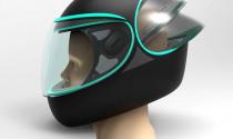 C-Through: Nón bảo hiểm thời trang giải quyết tình trạng mờ kính