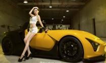 Kiều nữ tỏa sáng cùng siêu xe