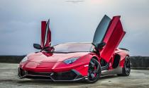Lamborghini Aventador LP720-4 Roadster 50th độ hầm hố tại Indonesia